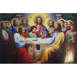 Плакат А1 66см х 97см ,Тайная Вечеря