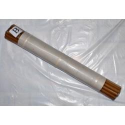 Свечи восковые 20-1 (15шт)  51см, диаметр12мм