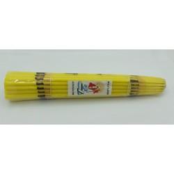 Желтые (парафин 33 свечи) Свечи Иерусалим 1 пучок