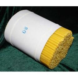 Свечи парафиновые 80 (400 шт) 19 см, диаметр 6мм