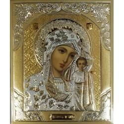 Казанская Лики 10х12 конгрев Софрино только с Спасителем