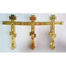 Кресты И Мет.с подставк. синий, красный зелен