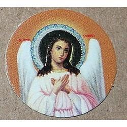 Ангел Хранитель поясной Лик круглый 2 см