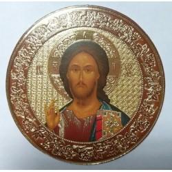 Спаситель  Византия Лик круглый 50см