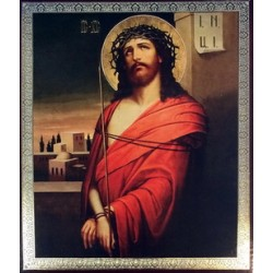 Иисус в терновом венце 20 х 24 см