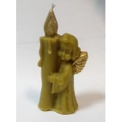 Ангел свеча воск 3