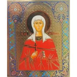 Антонина  Лик,4,2х5 см для скл. и мал. икон(цена за уп. 100 шт)