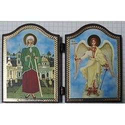 Ксения + Ангел Складень Д2Ф(60х84) 11шт,01220