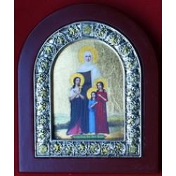 Вера , Надежда , Любовь и Сифия, арка средняя