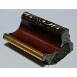 Багет П3092-971 (150м) коричнеывый 27х39