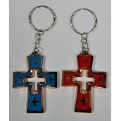 Брелок крест 2-3
