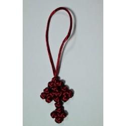 Брелок вязан.греч плетение на присоске