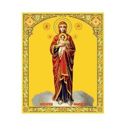 Валаамская Пресвятая Богородица 10 х 12