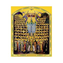 Собор преп.Печерских Отцов 10 х 12