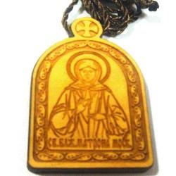 Медальон Лазарная графика Матрона