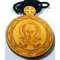 Медальон Лазарная графика Св.Николай