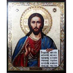 Иисус к Казанской (светлый фон) 10 х 12