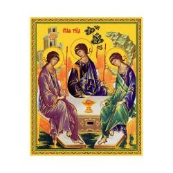 Троица ветхозаветная 10х12
