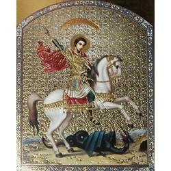 Георгий Победоносец на коне 10 х 12