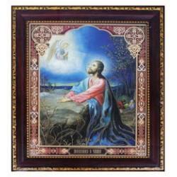 Икона в баг.рам, 30х40 ПС 3168с стеклом Лик(Казанская Всецарица Иверская Николай) в ассортименте