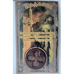 Крест Ладанка кож круг