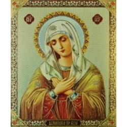 """Умиление  Пресвятая Богородица """"с""""15х18"""