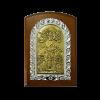 Иконы разных форм из дерева,метал. и стекла