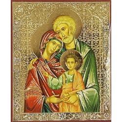Святое Семейство Лики полиграф,6,0х7,3см упаковка 100 шт
