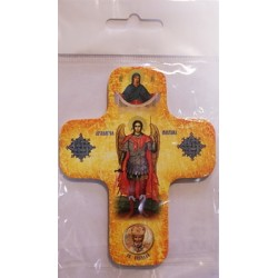 Михаил Крест картонный на липучке 8 х 10 (515)