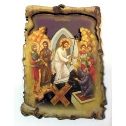 Воскресение Христово (Сошествие в ад) Иконы ЗД дер .6,5х10