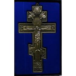Кресты металлические SV 19 19х10 см (бронз. ЗЕЛ. цв.)