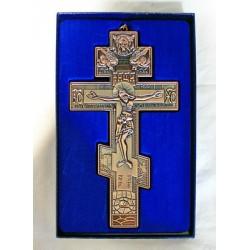 Кресты металлические SV 19 19х10см (бронз. КРАСН. цв.)
