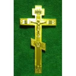 24 Крест восьмиконечный  с буквами литыми