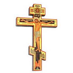 Крест распятье, дерево 1 (полигр.)