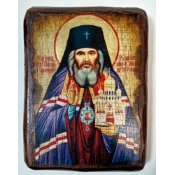 Иоан Шанхайский Икона  Греческая под старину 14х17