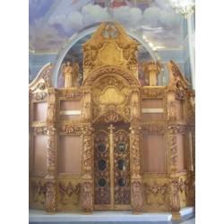Иконостас храмовый 10г - 15000х3500 -175000грн.