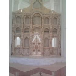 Иконостас храмовый без отделки 8г 255000грн отделка под лак 40000грн
