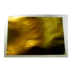 Бумага самоклейка А4 золото