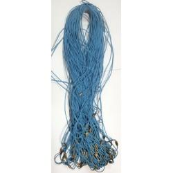 Нить на закрутке К 70 см голубая в уп 100шт