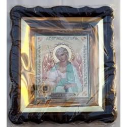 Ангел Хранитель Киот 10*12 пласт фиг.камни и капсуль ПХ