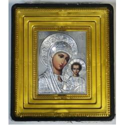 Казанская Б.М Икона Малая  зол окл.(70х80) 02853