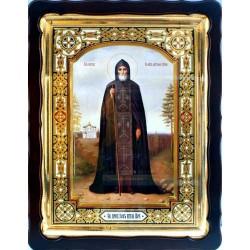 Киот Храмовый  60х80 фигурный БН Иов Игумен Почаевский