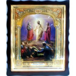 Киот Храмовый  60х80 фигурный БН Преображение Господне