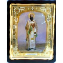 Киот Храмовый  60х80 фигурный БН Св. Григорий Богослов