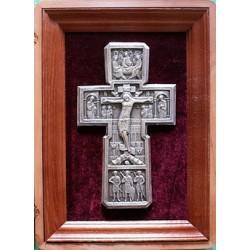 Киот Гальванопластика Крест (310х430)
