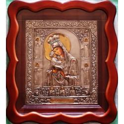 Киот Гальванопластика Почаевская М.Б. (370х420) фигурный