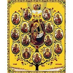 Древо пр.Богородицы (Горный Иерусалим)  лам,15*18