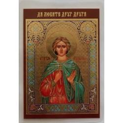 АНАТОЛИЙ икона ламин 6*9  114