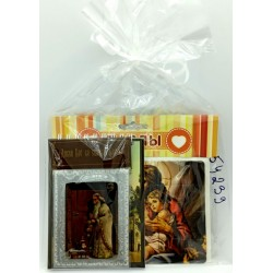 Николай 3 Подарочный набор (Пазл,Магнит Блокнот)