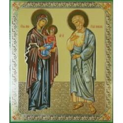 Иоаким и Анна 10 х 12 С